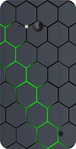 Shengshou Pattern Design Mobile Back Cover for Nokia Lumia 730   Black Green