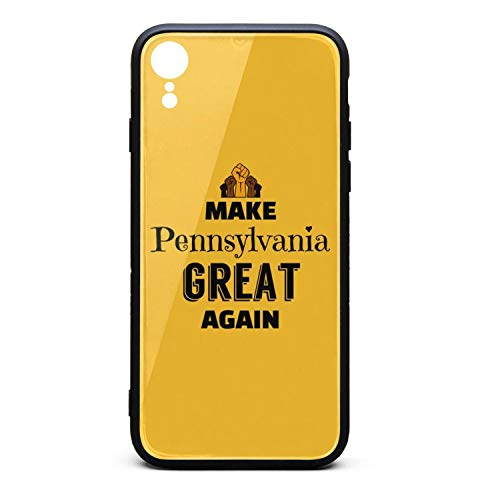 Make Pennsylvania Great Again-3 Hippie Case for iPhone XR Ultra Shockproof TPU Bumper iPhone Covers Compatible with iPhone XR Case 6.1 Inch