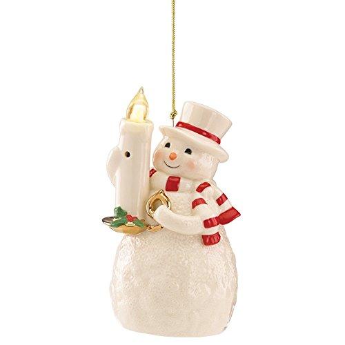Lenox Blow Out The Lights Sensor Snowman Hanging - Riverwalk At The Shops