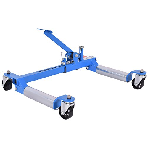 Goplus Wheel Dolly Car Skates Vehicle Positioning Hydraulic Tire Jack, 1250 lb (Blue) by Goplus (Image #5)