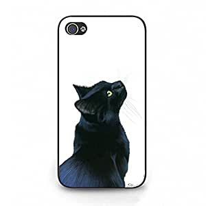 Protective Durable Cat Watercolour Phone Case Cover For Iphone 4/4S Watercolour Stylish