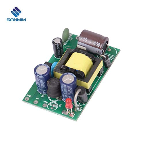 Utini AC220V-DC5V 1.5A 8W Power Supply Isolated Switch Power Supply Module 220 to 5v Bare Board PLH12A5V