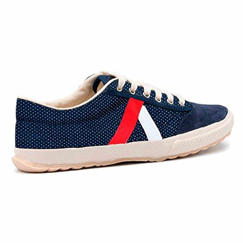El Ganso Tigra Canvas Walking, Zapatillas de Deporte Unisex Adulto (36 EU, dark blue dots)