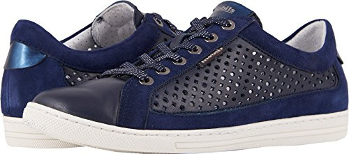 Mephisto Women's Hilda Perf Navy Silk/Indigo Velcalf Premium/Blue Magic 37.5 B EU by Mephisto
