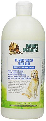 Nature's Specialties Aloe Remoisturizer Pet Conditioner, 32-Ounce