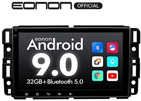 2020 Car Stereo Double Din Car Stereo,Android Head Unit Android 9.0 Eonon Car Stereo for Chevy Chevrolet Silverado 8 Inch Car Radio Support Carplay Android Auto Bluetooth 5.0 Fast Boot DVR-GA9380