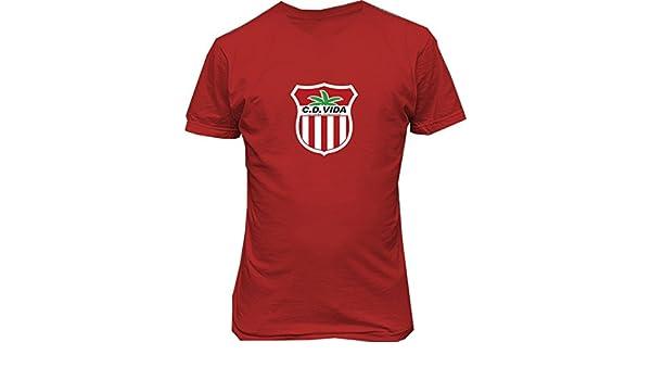 CD Vida Club Deportivo y Social Vida Honduras T shirt Camiseta futbol Soccer at Amazon Mens Clothing store: