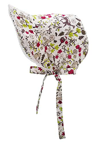 - Huggalugs Baby & Toddler Girls Woodland Bunny Bonnet UPF 25+ 0-3