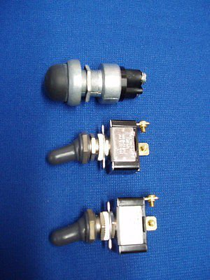 Lot Lincoln Welder Sa-200 Sa 250 Gas Toggle /& Starter Switch With Boots