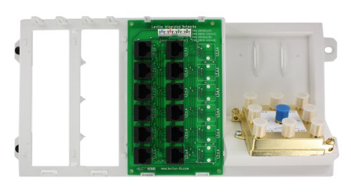 Leviton 47603-412 4X12 Telephone Distribution Board Leviton Phone Module