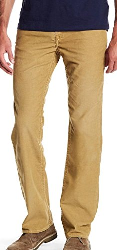 - True Religion Corduroy DHX-Straw Straight Flap Pant Size 30