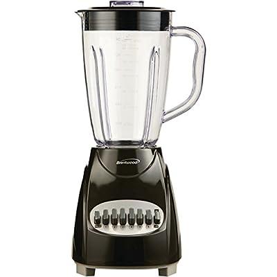 Brentwood JB-220B Appliances 12-Speed Blender with Plastic Jar, Black