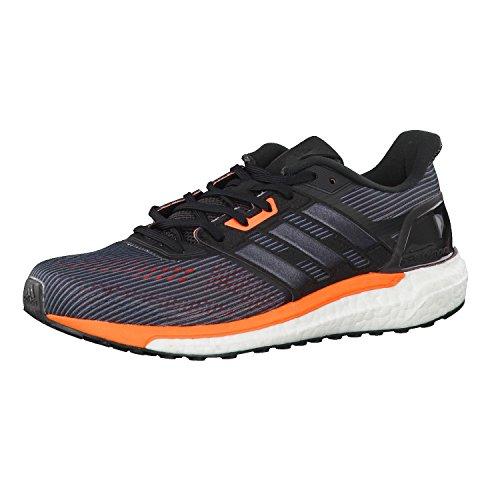 adidas Herren Laufschuhe supernova utility black f16/core black/solar orange 50 2/3