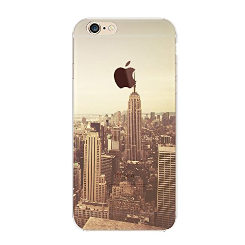 iPhone 6 Plus Case,CKCY [Ultra-Thin]Premium Stylish Color Exact Fit Absolutely NO Bulkiness (New York Case)
