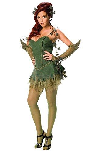 (Secret Wishes Batman Poison Ivy Costume, Green,)