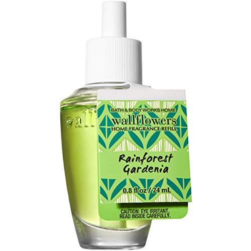 Rainforest Freshener Air (Bath and Body Works RAINFOREST GARDENIA Wallflowers Home Fragrance Refill 0.8 Fluid Ounce)