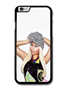 Nicki Minaj Portrait Posing with a Hat case for iPhone 6 Plus