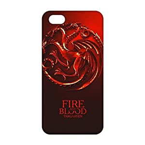 Fortune house targaryen 3D Phone Case For Sam Sung Galaxy S5 Cover