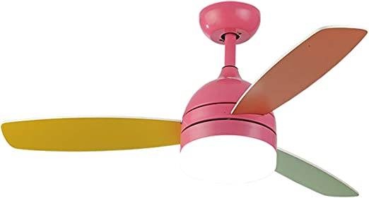 Ventilador de techo De La Habitación De Los Niños Luces Hermosa ...