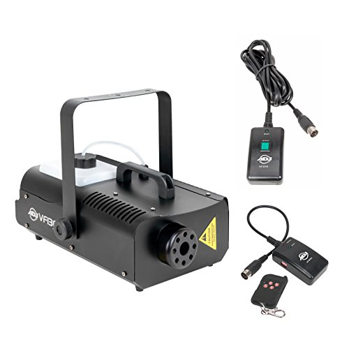 American DJ 1300 Watt 2.3 L Tank Mobile Fog Machine w/ Remote Controls | VF1300