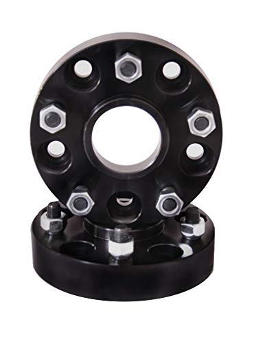 Rugged Ridge 15201.09 Black Wheel Spacer Pair (1.5