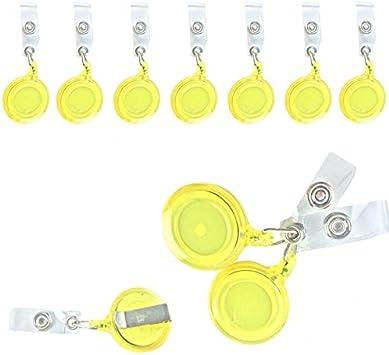 5-50 Pcs Retractable Badge Reels Keys ID Badge Holder Belt Clip Wholesales Lot