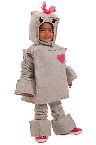 Robot Child Costume (Princess Paradise Kids Rosalie the Robot Costume, X-Small, Gray)