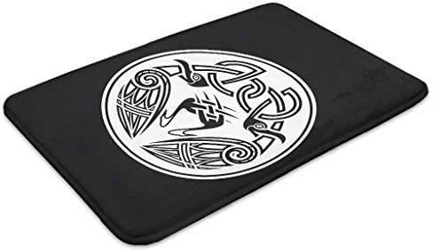 Bpbpack Negro Celta Odins Rabe Huginn y Muninn Nudos Tatuaje ...