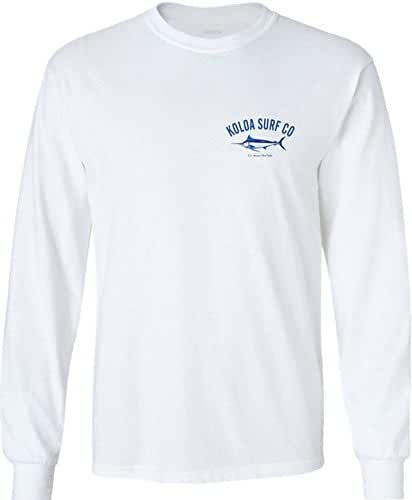 Koloa Surf Hawaiian Blue Marlin Logo T-Shirts,Tanks and Hoodies