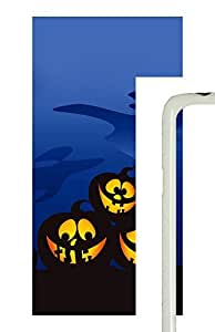 Samsung Galaxy S5 Three Silly Halloween Pumpkins754 PC Custom Samsung Galaxy S5 Case Cover White