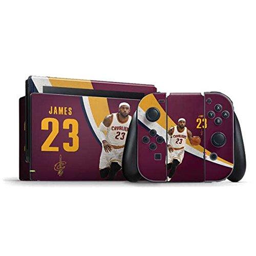 Skinit Cleveland Cavaliers Nintendo Switch Bundle Skin - LeBron James Fastbreak | NBA Skin by Skinit