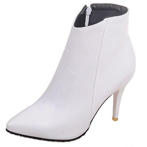 Botin Moda Botas Dress Blanco Zanpa Mujer Fiesta Tacon Zapatos O4WPnnAwIq