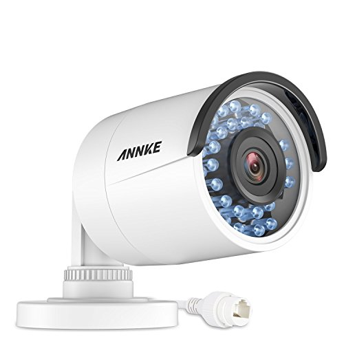 ANNKE 1.3MP 960P Network POE IP Camera, IP67 Weatherproof CCTV Camera (Vision Mounting Channel Horizontal Brackets)