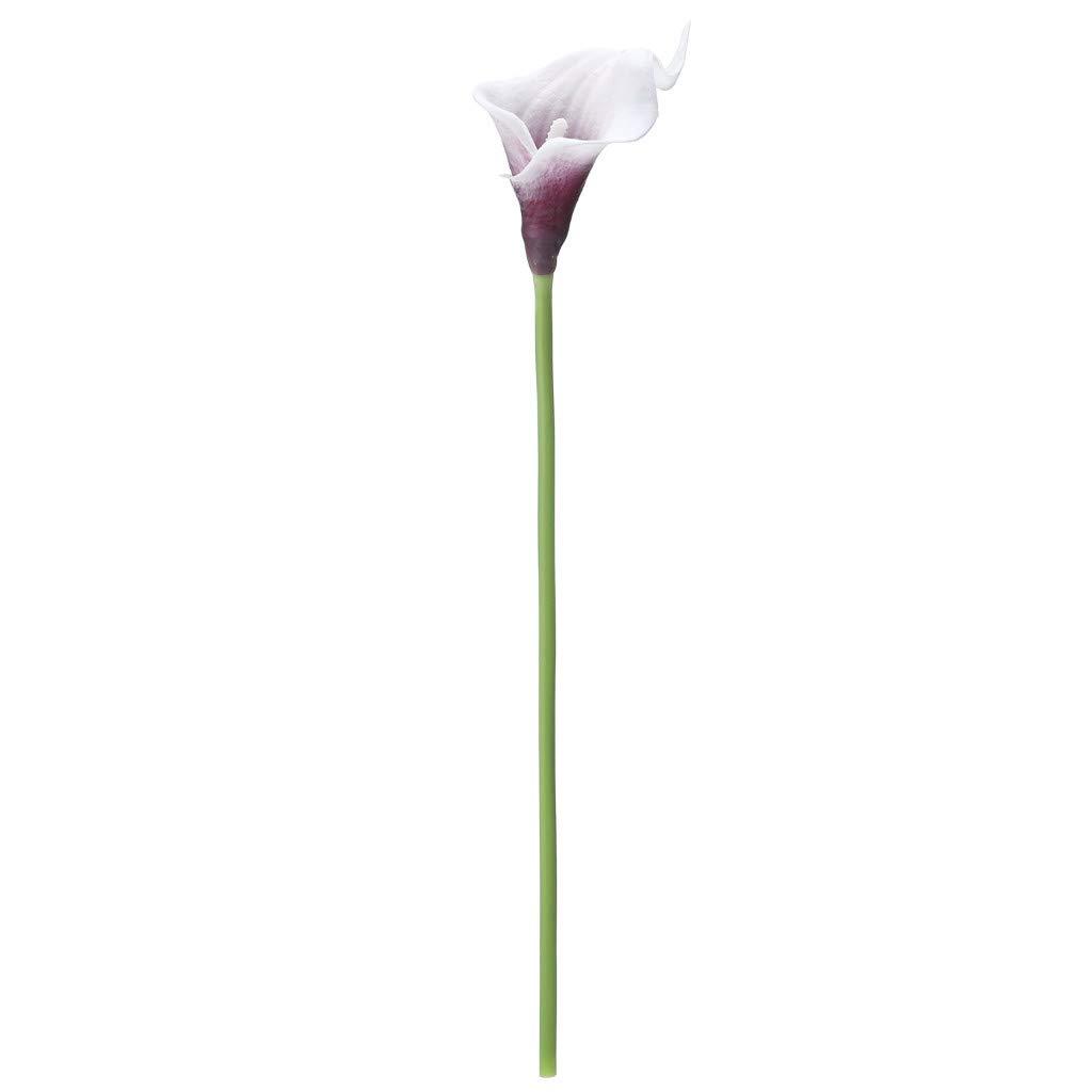 Compra Webla Boran - Mini Flor Artificial de Calla ...