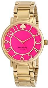 Kate Spade New York Women's Gramercy - 1YRU0389 Bougainvillea Pink Watch