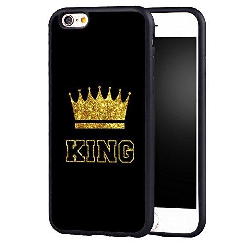 Amazon Com For Iphone 7 Iphone 8 X Case King Queen Best Friend