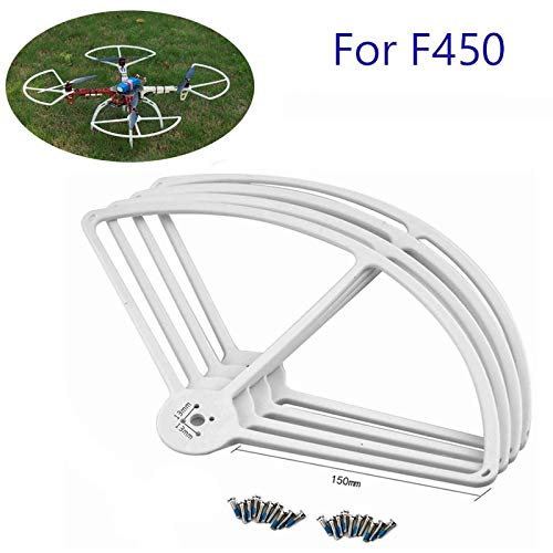12' Rc Helicopter - Hockus Accessories F450 F550 Propeller Protector 7-13'' Propellers Guard 4-Axis DIY Quadcopter 1045 Props Guard for S500 S550 Helicopter RC Drone