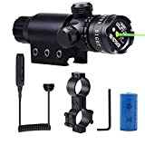 Shockproof 532nm Tactical Green Dot Laser Sight Rifle Gun Scope Rail and Barrel