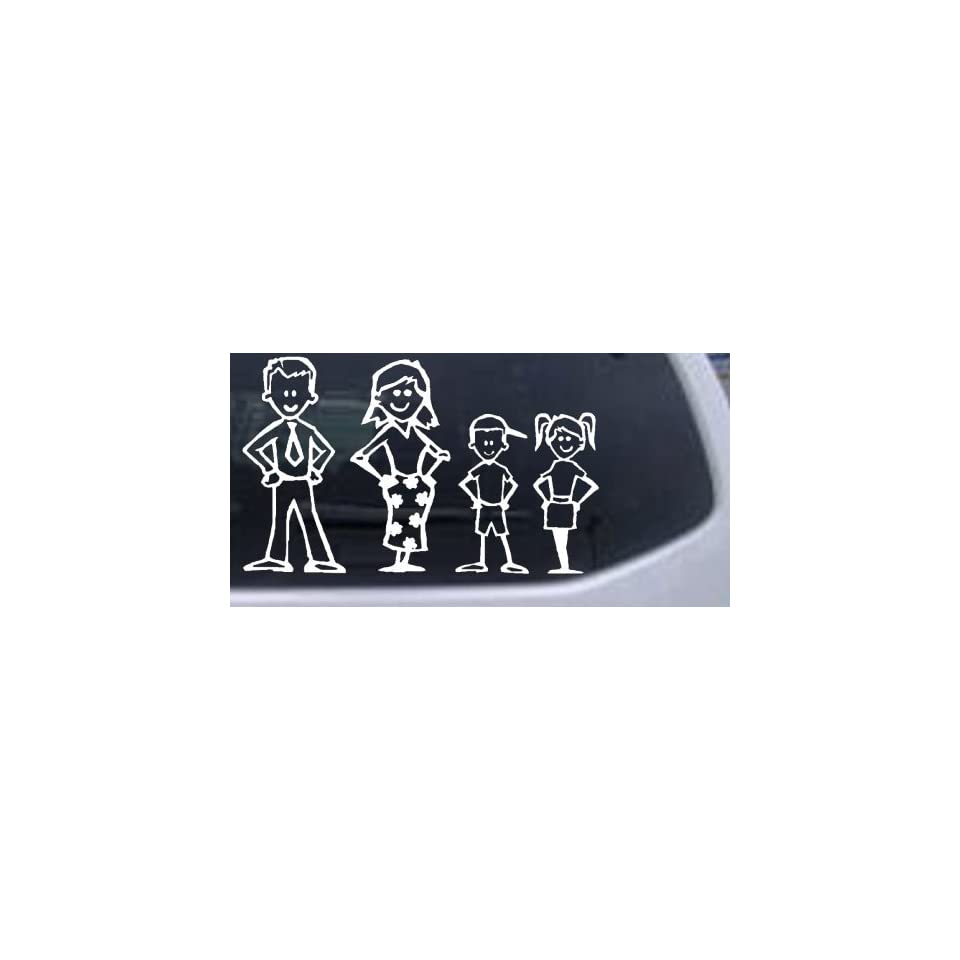 Stick Family People Car Decals Sticker Graphics Item#3