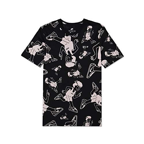 Stampe s 010 T Aa6307 Nero shirt Nero Con Nike URwH1qx