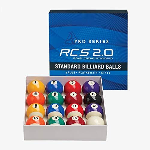 Pro Series Royal Crown Standard RCS2.0 Billiards Complete Pool Balls Set