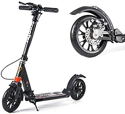 Patinetes Scooter para Adultos Fácil De Plegar con Frenos De ...