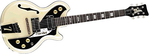 Italia Mondial Classic Semi-Hollow Electric Guitar - Italia Cream