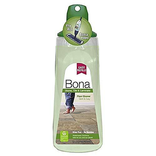 (3 Pack) Bona Stone, Tile & Laminate Floor Cleaner Cartridge, 34 oz
