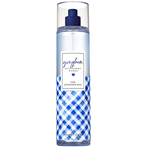 Bath and Body Works Gingham Fine Fragrance Mist 8 Fluid Ounce (Limited Edition)