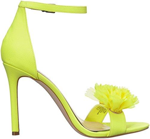 Jessica Simpson Women's Jeena Heeled Sandal Yellow Shock qAaf2zhZ