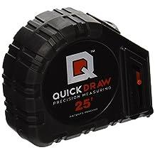 QUICKDRAW IBQD25F-1CS Tape Measure Precision Measuring Tape-Contractor Kit, 25'