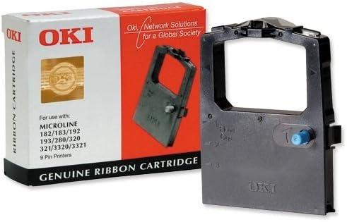 ML320 ML321 3320 UK. 10 X OKI MICROLINE INK RIBBONS BLACK ML182 ML193 2455RN