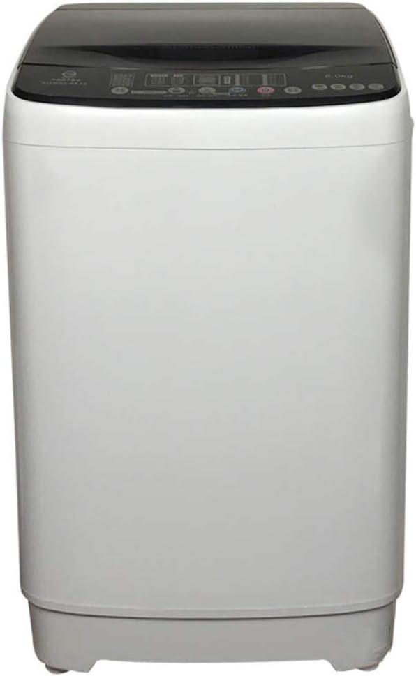 Lavadora, Control por Computadora Completamente Automático, Pantalla LED Lavadora Independiente, 7 Kg 8 Kg De Carga, Irradiación De Luz Azul 360 °, Reserva, En El Hogar Y La Cocina,8kg