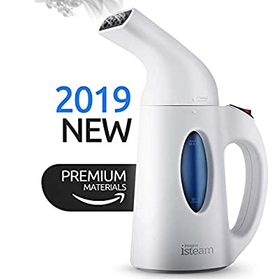 Steamer for Clothes [Updated Version] 7-in-1 Powerful Multi-Use: Wrinkle Remover-Clean-Sterilize-Sanitize-Refresh-Treat-Defrost-Garment/Home/Kitchen/Bathroom/Car/Travel